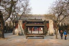 Азия Китай, Пекин, архитектура ŒLandscape ¼ spotï White Cloud Temple сценарная Стоковые Фотографии RF