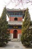 Азия Китай, Пекин, архитектура ŒLandscape ¼ spotï White Cloud Temple сценарная Стоковые Изображения
