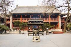 Азия Китай, Пекин, горелка ŒIncense ¼ architectureï ŒLandscape ¼ ï White Cloud Temple Стоковые Фото