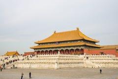 Азия Китай, Пекин, имперский дворец, история здания, королевского дворца Стоковые Изображения