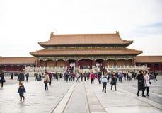 Азия Китай, Пекин, имперский дворец, история здания, королевского дворца Стоковые Изображения RF
