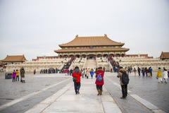 Азия Китай, Пекин, имперский дворец, история здания, королевского дворца Стоковое фото RF