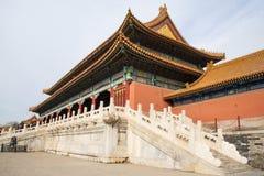 Азия Китай, Пекин, имперский дворец, история здания, павильоны, террасы и открытые залы Стоковое Изображение