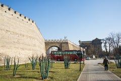 Азия Китай, Пекин, династия стены Ming губит парк, стоковые изображения rf