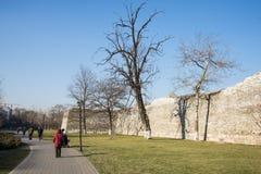 Азия Китай, Пекин, династия стены Ming губит парк, стоковая фотография