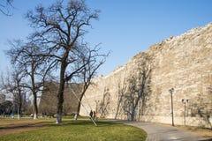 Азия Китай, Пекин, династия стены Ming губит парк, стоковые фото