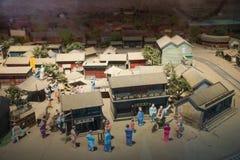 Азия Китай, Пекин, музей Xuan Nan культурный, крытое ¼ ŒModel hallï выставки Стоковое Изображение