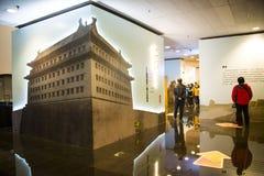 Азия Китай, Пекин, прописной музей, крытая диаграмма ŒThe ¼ hallï выставки Будды Стоковая Фотография