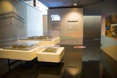Азия Китай, Пекин, прописной музей, крытая диаграмма ŒThe ¼ hallï выставки Будды Стоковая Фотография RF
