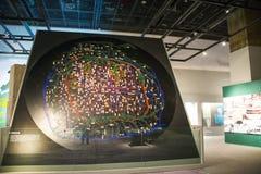 Азия Китай, Пекин, прописной музей, крытая диаграмма ŒThe ¼ hallï выставки Будды Стоковое фото RF