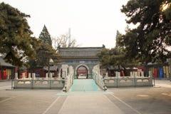 Азия Китай, Пекин, пятно White Cloud Temple сценарное Стоковое Фото