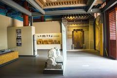 Азия Китай, Пекин, старое ¼ Œ hallï выставки ŒIndoor ¼ Museumï архитектуры Стоковая Фотография