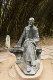 Азия, Китай, Qingdao, Шаньдун, скульптура, Pu Songling стоковое фото