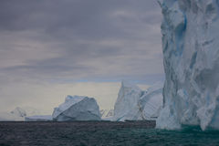 айсберги Антарктики Стоковое Изображение RF