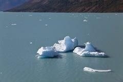 Айсберги на леднике Perito Moreno. Стоковое Фото
