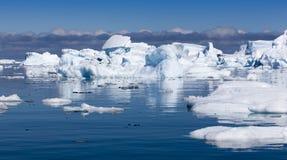 айсберги Стоковые Изображения