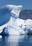 айсберги стоковое изображение