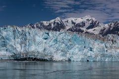 айсберги hubbard ледника переднего плана Аляски плавая малые Стоковая Фотография