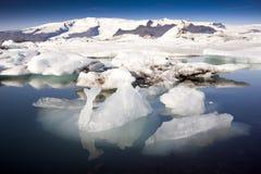 Айсберги Joekulsarlon, Исландия Стоковые Изображения RF
