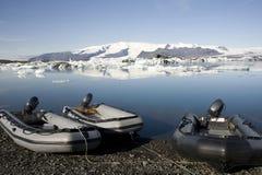 Айсберги, Joekulsarlon, Исландия Стоковые Изображения RF