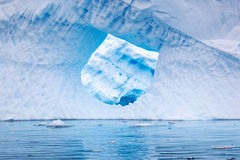 Айсберг в Antartica Стоковые Изображения RF