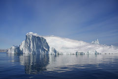 айсберг Гренландии disko залива Стоковые Изображения RF