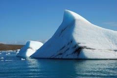 айсберг Исландия Стоковое Изображение RF