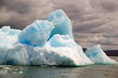 Айсберг на лагуне San Rafael, Патагония, Чили стоковые изображения rf