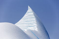 Айсберг около Святого Антония, Ньюфаундленда стоковая фотография rf