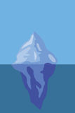 Айсберг льда Стоковые Изображения