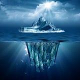 Айсберг. Стоковые Изображения