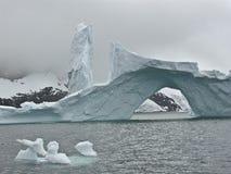 айсберг 4 Антарктика Стоковое Изображение RF