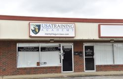 Академия тренировки США, Мемфис, TN стоковые фото