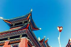 Академия буддиста Larong Wuming Стоковое фото RF