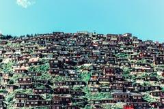 Академия буддиста Larong Wuming Стоковая Фотография