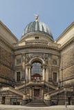 Академия искусств, Германия Дрездена Стоковые Фотографии RF