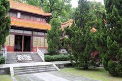 Академия Yuelu, город Чанши, фарфор. Стоковые Фотографии RF