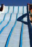 Аквапарк, водные горки Стоковые Фотографии RF