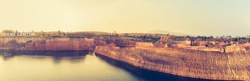 Аквапарк гранд-каньона Чиангмая Стоковая Фотография