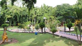 Аквапарк Sivagangai в Индии стоковые изображения rf