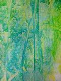 акварель бирюзы Стоковое фото RF