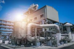акварель завода чернил искусства промышленная Стоковое Фото