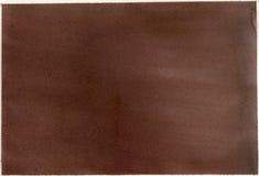 акварель мытья коричневой бумаги Стоковое фото RF
