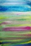 акварель предпосылки искусства творческая striped иллюстрация вектора