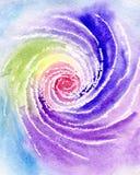 акварель радуги иллюстрация штока
