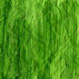 акварель скомканная предпосылкой зеленая Стоковое Изображение