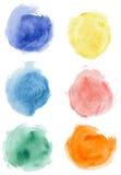 акварель шариков Стоковые Фотографии RF