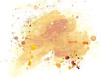 акварель grunge предпосылки Стоковая Фотография RF