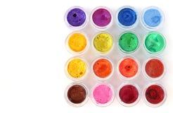 Акварели в различных цветах Стоковые Изображения RF