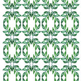 Акварель картины густолиственных ветвей безшовная Стоковая Фотография
